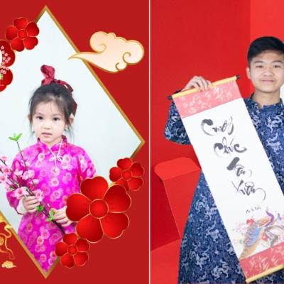 Bộ ảnh áo dài - Món quà tri ân năm mới